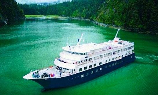 Coastal Sightseeing Cruise In Alaska, See The Yukon By Boat