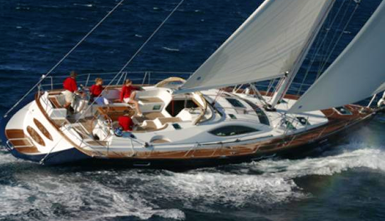 Charter A 2008 Sun Odyssey 54 Ds From Greece