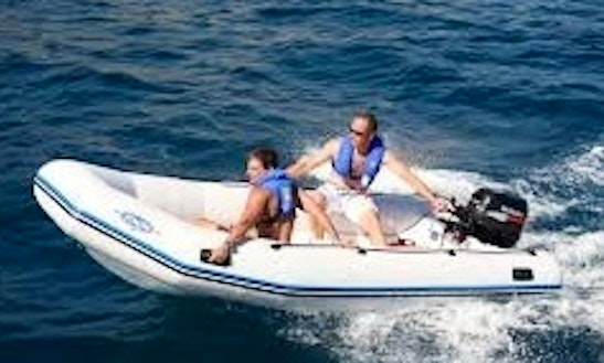Zodiac 400 Rib Rental In Mahon