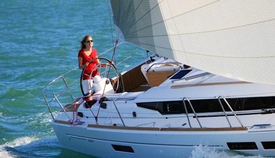 Greek Sailing Yacht Sun Odyssey 469 New!