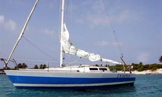 Charter A J30 At Sail San Juan Bay, Puerto Rico