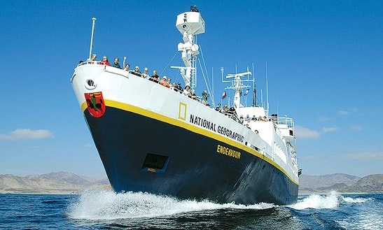 Ng Endeavour - Galapagos Island Cruise Ship In Puerto Ayora
