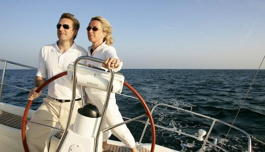 Greek Monohull Cruiser Sun Odyssey 36i  Chartering In Sani, Greece