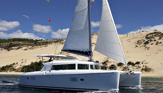 Greek Luxury Catamaran Lagoon 420 Chartering