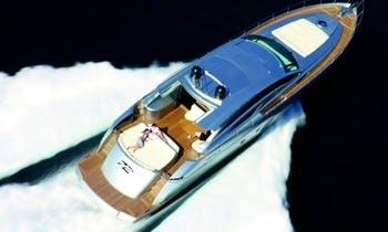 Charter the 72' Pershing Power Mega Yacht in Capri Island, Italy