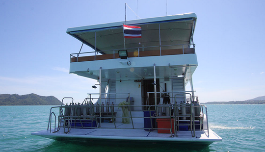 4 Day Phuket Diving Charter Motor Yacht Pawara
