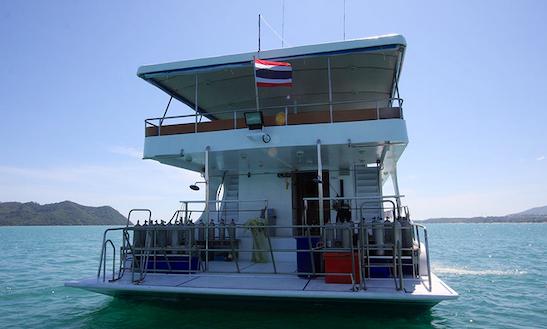 4 Day Phuket Diving Charter Motor Yacht Pawara