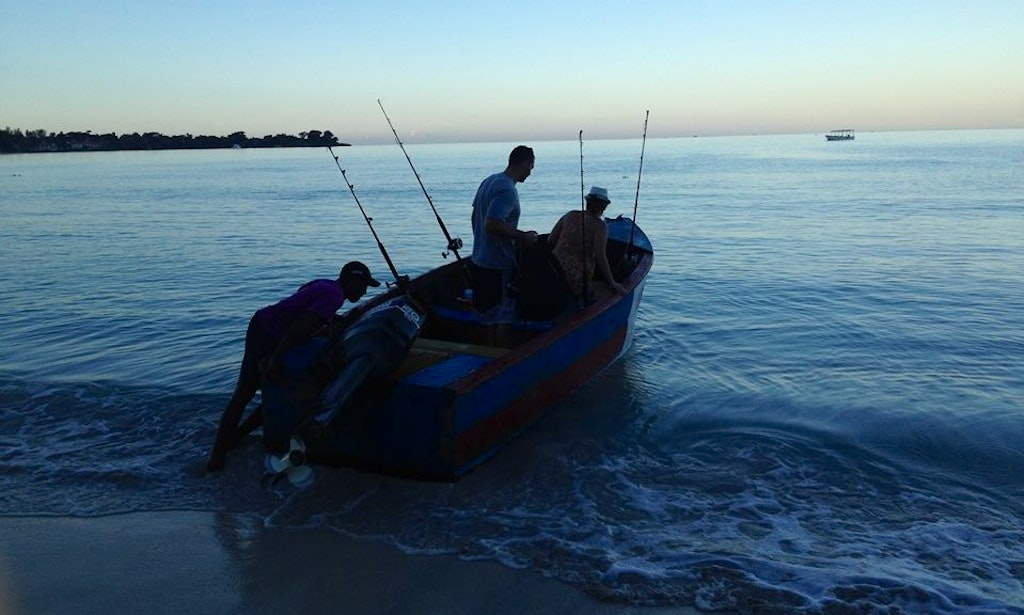 Fishing charter on cool running in negril jamaica for Jamaica fishing charters