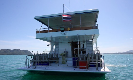 Mv Pawara Diving Boat In Tambon Ko Kaeo