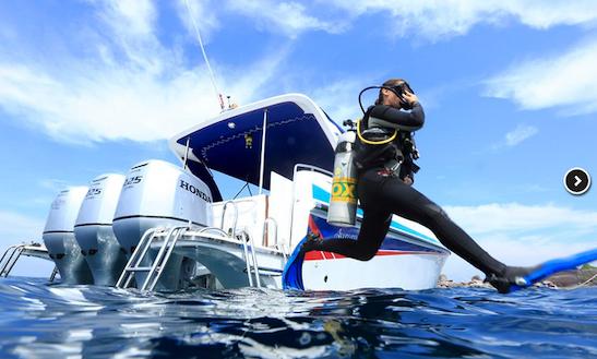 Scuba Speedboat Blue Dolphin In Tambon Khuekkhak