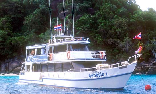 Scuba Charter In Tambon Khuekkhak Yacht Genesis 1