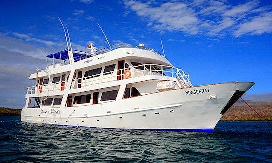 91' Monserrat Motor Yacht Charter In Puerto Ayora