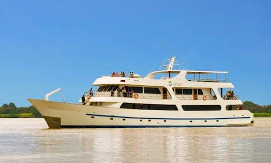 1st Class Motor Yacht Odyssey Charter In Puerto Ayora
