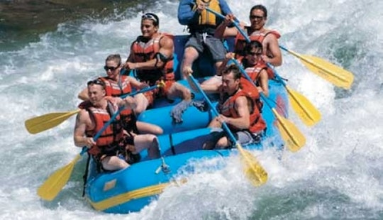 Whitewater Rafting Departing From Mamaris