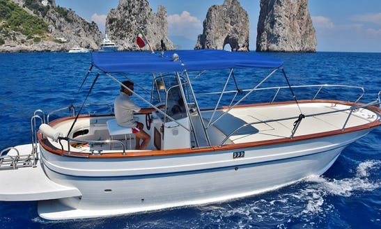 Deck Boat For Rent In Massa Lubrense
