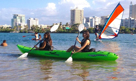Double Kayak Rental & Lesson In San Juan Bay