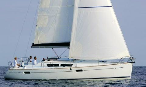 "Sailing Charter On 38ft ""Formica"" Sun Odyssey 36i Cruising Monohull In Palermo , Italy"
