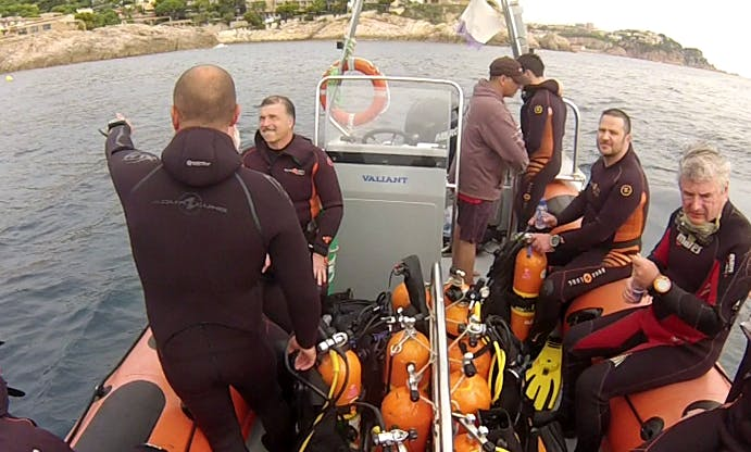Dive Courses in tossa de mar
