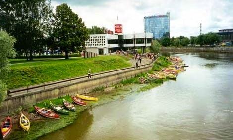 Canoe Rental in Üksnurme