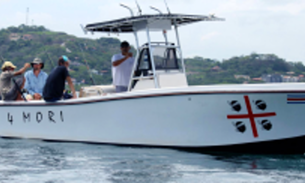 Fishing charter on 4mori in costa rica getmyboat for Costa rica fishing charters
