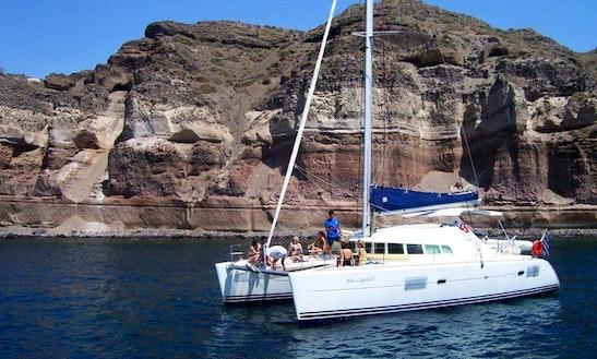 41' Cruising Catamaran Charter In Firostefani