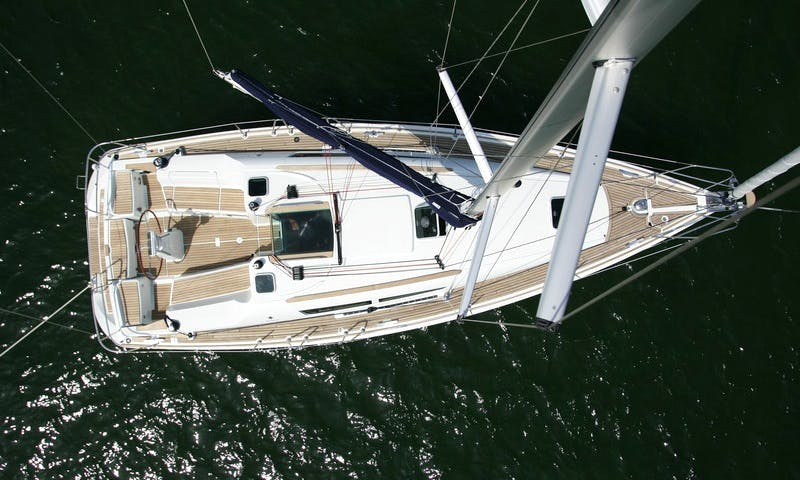 "36ft ""Marina"" Sun Odyssey 36i Cruising Monohull Rental In Tropea, Italy"