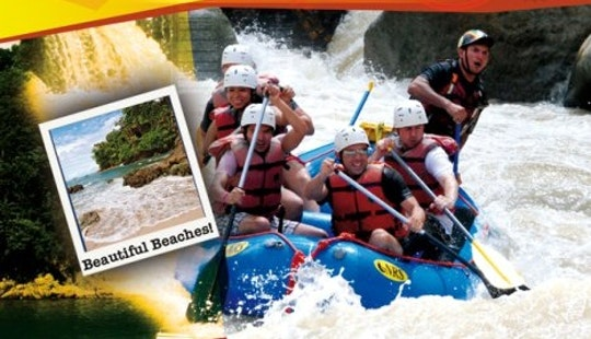 White Water Rafting In Playa Hermosa