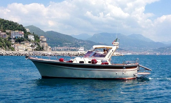 Private Boat Tour For 12 Person On The Amalfi Coast In Italy!