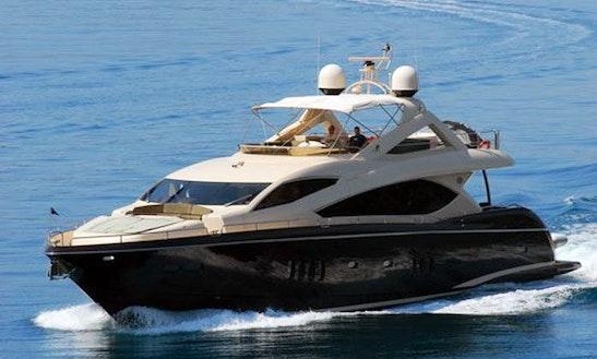 Charter S 8 Person Sunseeker Power Mega Yacht In Split, Croatia