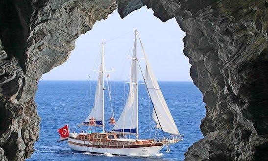Gulet Yacht Kobra Rental Turkey In Bodrum Marmaris Gocek Fethiye