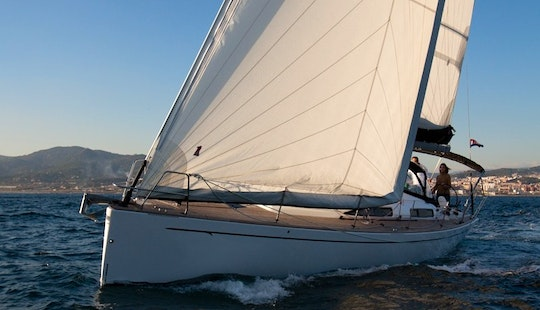 Salona 41 Fast Dream  Cruising Monohull Chartering In Tropea