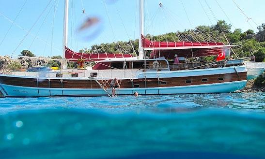 Gulet Yacht Miriam Sophie Rental Turkey In Bodrum Marmaris Gocek Fethiye