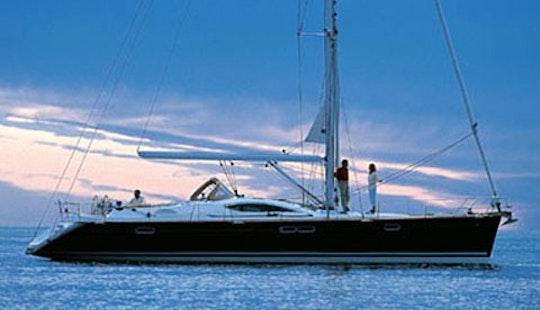 54ft 'nietta' Sun Odyssey Cruising Monohull Rental In Tropea, Italy