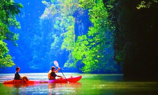 Hong Island Kayak Tours Departing From Krabi