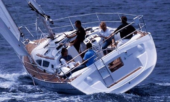Sun Odyssey 34.2 Sailing Charter In Italy