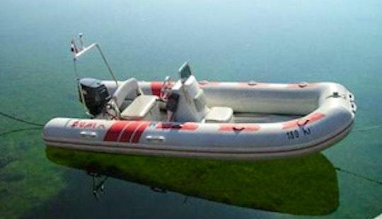 Zadar Coast Rib Dumi 450 Rental