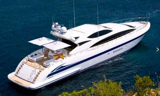 Mangusta 105' Motor Yacht Charter In Palma, Spain