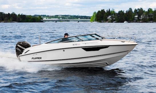 Flipper 670 Dc Yacht Charter  In Tallinn