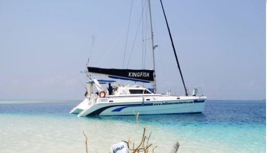 S/y Kingfish Cruising Catamaran In Palau