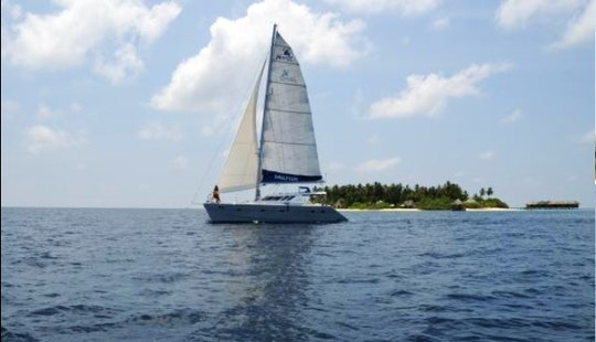 49ft S/y Sailfish Yacht Charter In Palau, Maldives