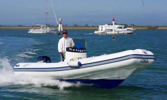 Cruise Italy Renting Gommoni  Seadragon 575