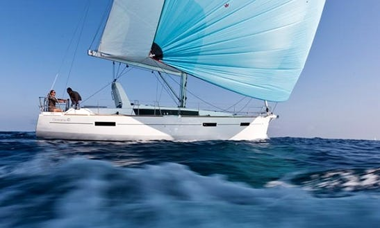 Cruise Greece On 'liberta' Beneteau Oceanis 41