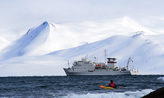 Mv Akademik Sergey Vavilov In Antarctica
