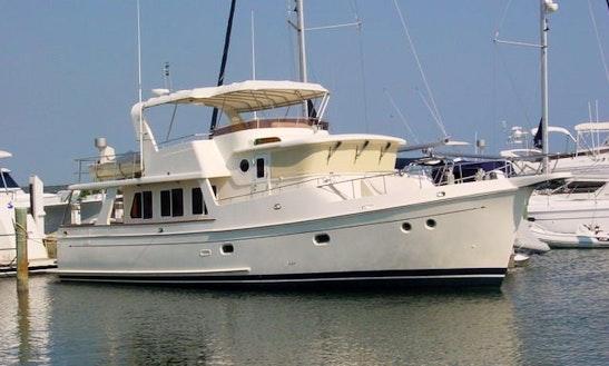 53' Selene Motor Yacht Charter In Sarasota, Florida