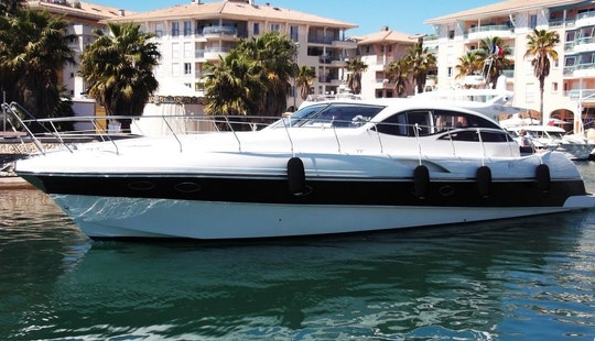 Alena 56 Crewed Motor Yacht Charter In Frejus