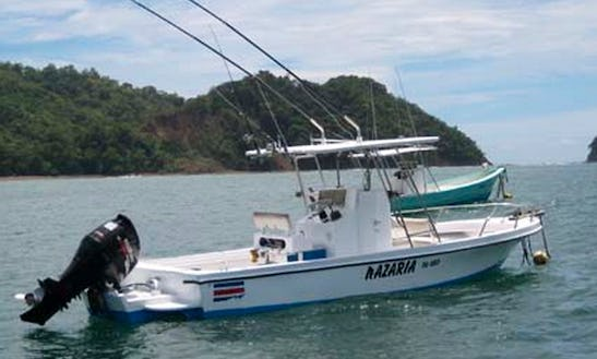 Fishing Charter For 4 People Aboard 28' Center Console In Playa Hermosa, Costa Rica