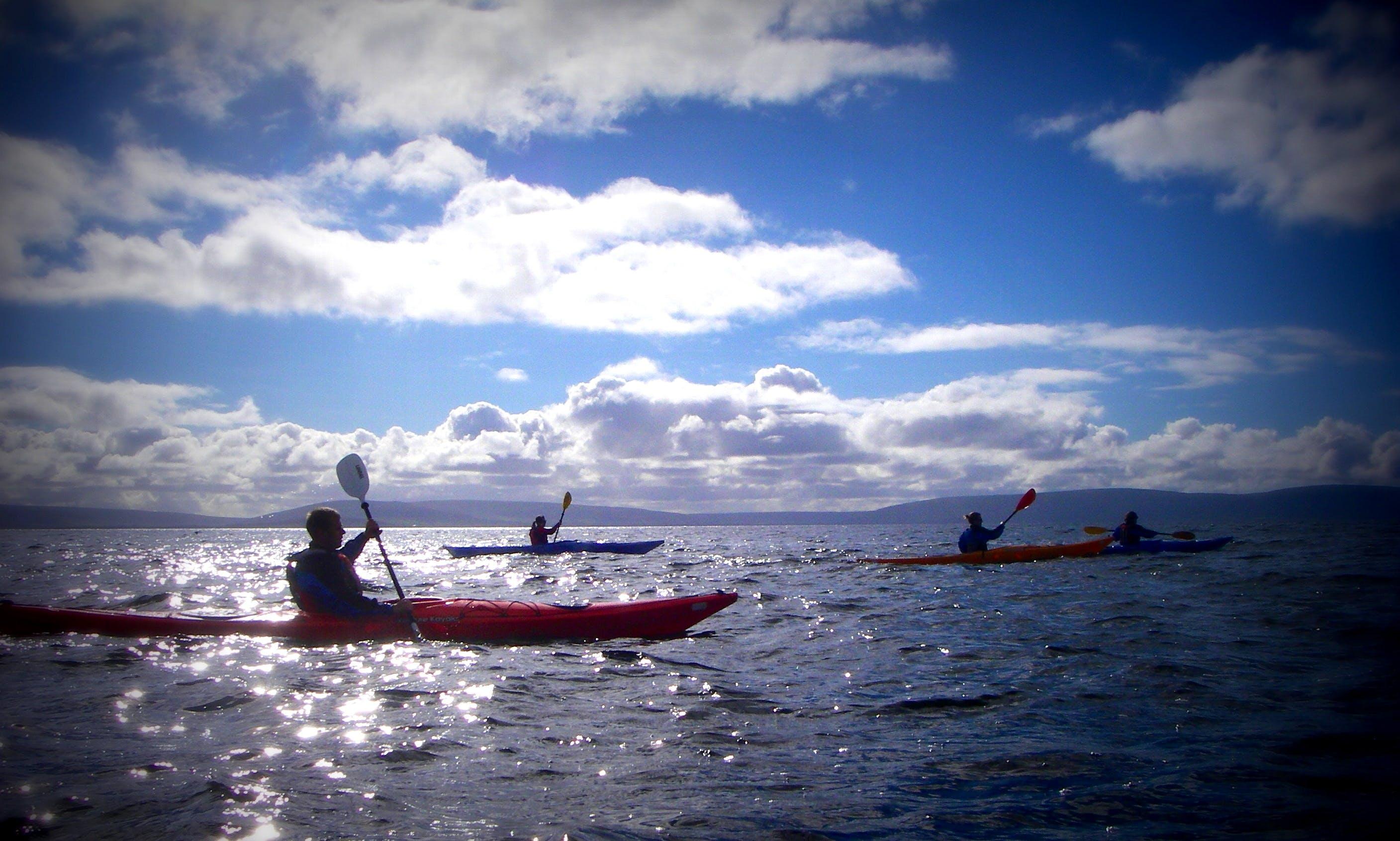 Sea Kayaking in Galway, Ireland