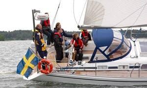 "Stockholm Archipelago Charter ""Aquileja"" Sailboat"