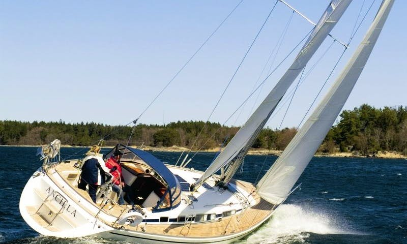 Charter Cruising Monohull in the Stockholm Archipelago