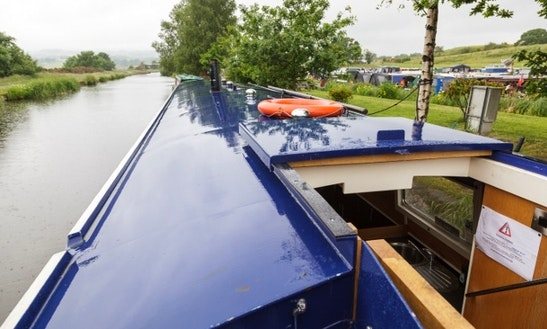 Chart Vintage Canal Boat  In United Kingdom
